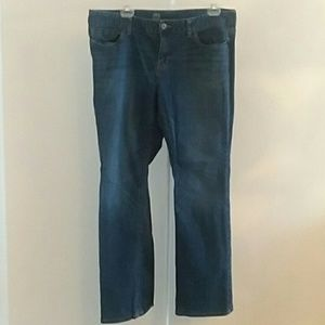 Mossimo curvy fit boot cut 16R jeans